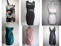 JOBLOT Bulk DESIGNER Evening Dresses Gowns x6 - Debenhams Debut Lipsy Selfridges TokyoDoll