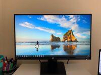 HP Monitor 21.5 Inch FHD IPS - 22 w