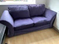 Nearly new 3 seater sofa bed