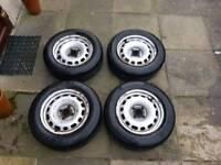 """Citroen/Peugeot/Ford/Fiat van wheels, 15"""", 4x108"""
