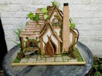 Fairy Dollshouse handcrafted 1:24 scale lit and furnished