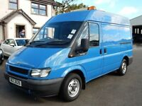 2005 FORD TRANSIT SWB MEDIUM ROOF PSVD OCT 2017 TIDY EXAMPLE 1 OWNER FROM NEW