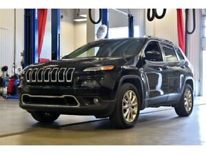 2015 Jeep Cherokee LIMITED * V6 * 4X4 * HITCH 4500LBS * CUIR *