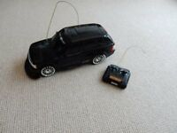 Black Range Rover remote control car