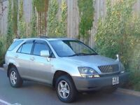 LEXUS HARRIER RX300 AUTO - TOP SPEC + 1 OWNER + STUNNING EXAMPLE