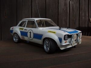 Ford Escort mk1 rc car body shell 1/10 scale