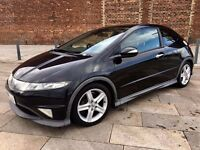 2008 HONDA CIVIC TYPE S GT DIESEL ++ ALLOYS ++ ELECTRIC WINDOWS ++ DECEMBER MOT.