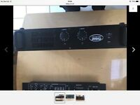 pro sound 400 professional amp, used condition but all works as it should. Not used a great deal.