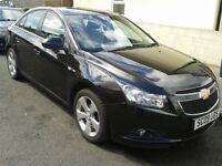 2009 Black Chevrolet CRUZE 1.8 Petrol 5dr, Mot, NAVI, low mileage, drive smoothly