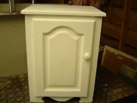 bedside cabinet/ small cupboard