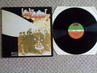 LED ZEPPELIN 2 1969 GATEFOLD LP ATLANTIC GREEN AND ORANGE