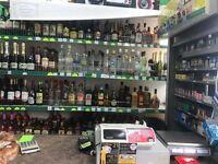Off License Shop, Mixed European Food, Still Running, CCTV Recording