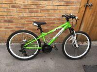 Boys Carerra Mountain Bike