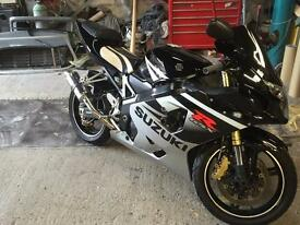 Gsxr 600 k5 lots of extras 2005