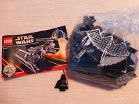Lego Starwars 8017 Darth Vader's TIE Fighter 100% complete