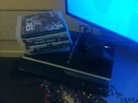 Sony Playstation 3 with games and controller cheap gone asap