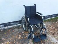 Light weight self propelled wheelchair