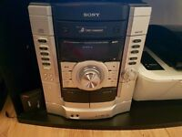 Sony hi fi system with subwoofer