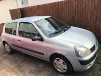 Renault Clio For Sale - LOW MILEAGE - Cheap to run - 1 previous owner