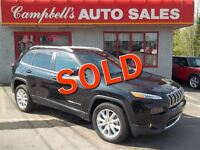 2014 Jeep Cherokee LIMITED!! AWD!! MOON ROOF!! HEATED LEATHER!!