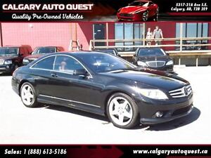 2010 Mercedes-Benz CL-Class CL550 4-MATIC/COUPE/NAVIGATION/NIGHT