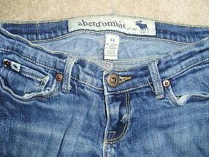 Girl's Abercrombie Blue Jeans, size 14 London Ontario image 2