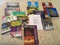 Keyboard music with music stool