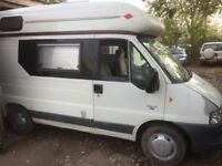 camper /motorhome roma home citron relay 2003 spares repair no mot runs and drives