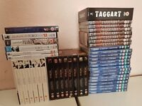 Collection of crime DvDs