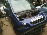 Vauxhall zafira 2008 braking on parts.