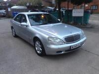 Mercedes s320 w reg automatic V6 petrol fully loaded motd low miles £550