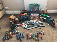 Thomas the tank take & play sets & trains