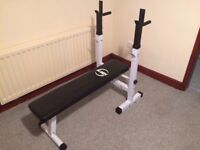 Home Gym, bench press with weights - all for ONLY £200.00