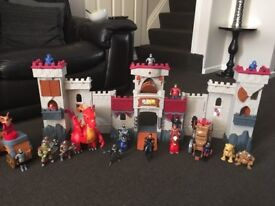 Fisher Price Toy Castle with Accessories