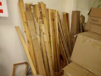 Large quantity of pine bed parts, can be assembled into beds / bunks or used for DIY or firewood
