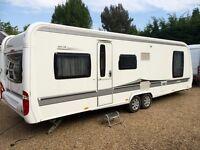 Hobby Caravan 695 Vip Collection (2011) Island Bed. Like Tabbert/fendt