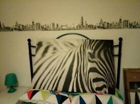 Ikea large zebra picture