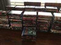Over 200 dvd's job lot carboot