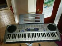 Casio Midi LK43 Keyboard with stand