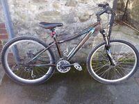 "Specialized Myka Elite hardtail mountain bike 15"" frame"