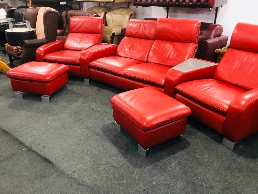 Top Quality Get Designer Leather Cinema Style Sofa