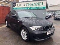 BMW 1 Series 2.0 118d ES 2dr£7,495 p/x welcome 1 YEAR FREE WARRANTY. NEW MOT