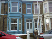 self contained second floor bedsit, gas central heating included inrent
