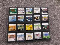 Nintendo ds game cartridges