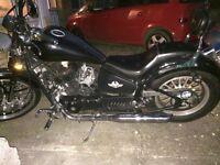 AJS Daytona 125cc motorbike