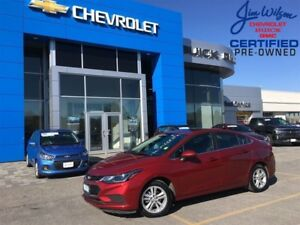 2017 Chevrolet Cruze LT ROOF HEATED SEATS REAR CAMERA!!!