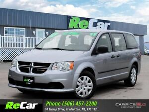2017 Dodge Grand Caravan CVP/SXT AUTO | AIR | STO & GO | ONLY...