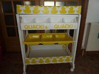 Cosatto easi peasi changing station / unit with hidden baby bath - Ducks in a row