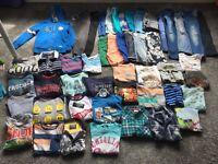Boys Clothes Bundle - 49 items - age 5 & 6 - Next, Ted Baker, Zara, George etc - good cindition
