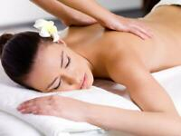 Free massage for stressful and tired ladies. Professional service